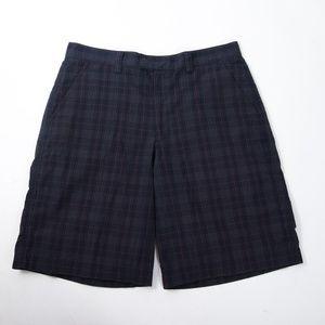 Patagonia Puckerware Seersucker Navy Blue Shorts